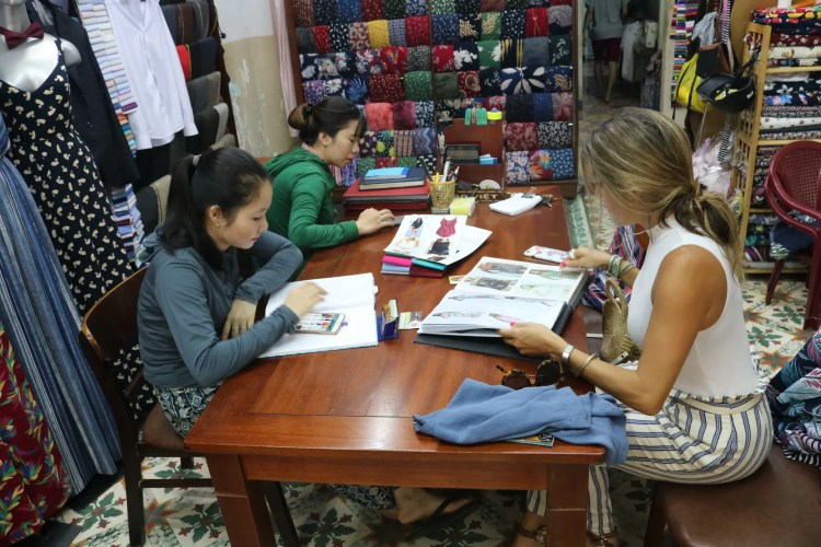 Tailor Made Clothing in Hoi An
