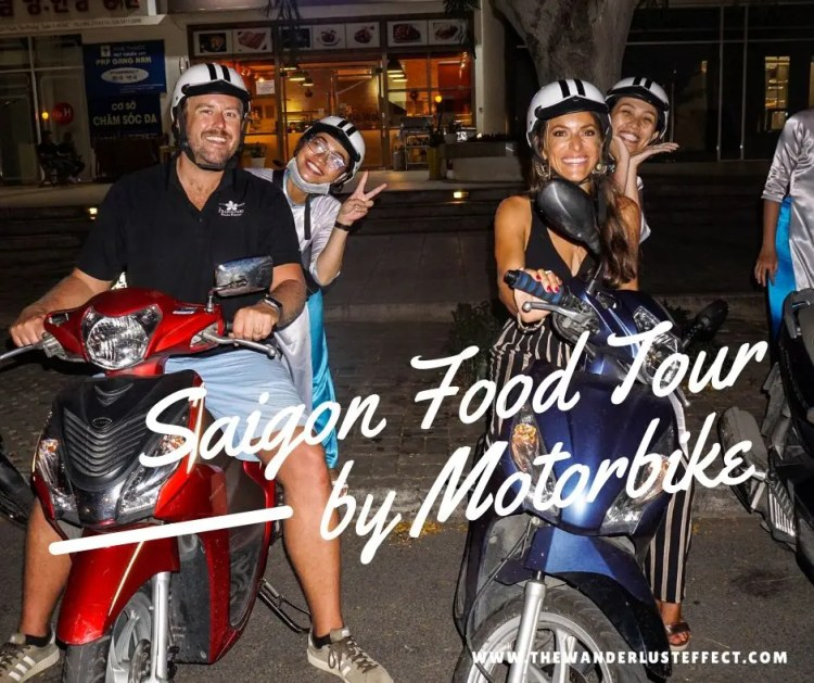 Saigon Food Tour by Motorbike with XO Tours