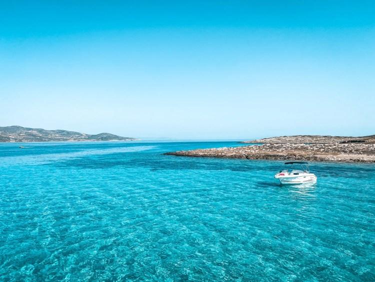 Exploring Antiparos by Boat