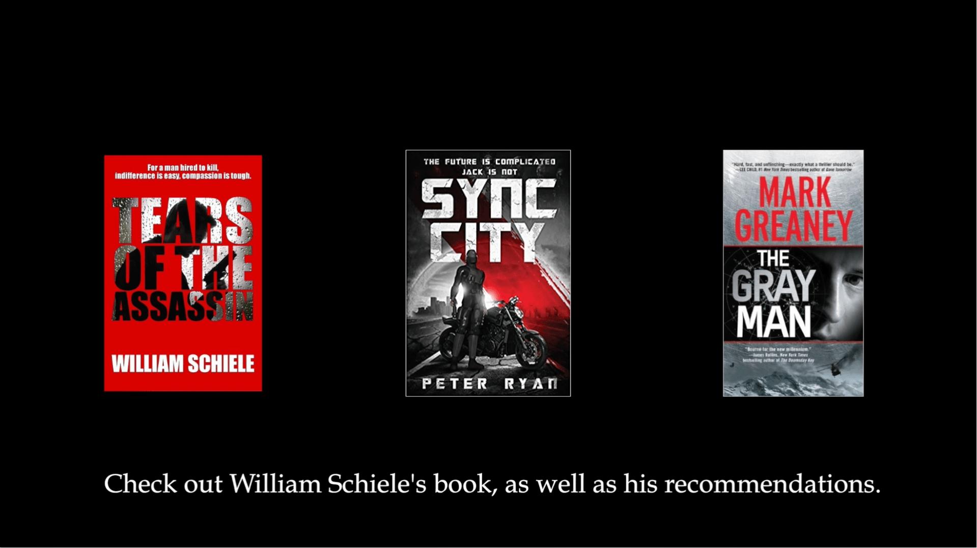 Author Interview – William Schiele