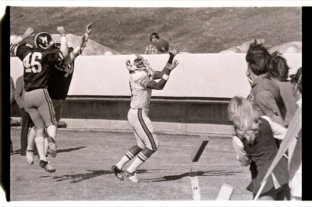 Rare Photos From The 1973 Sun Bowl Auburns First Game