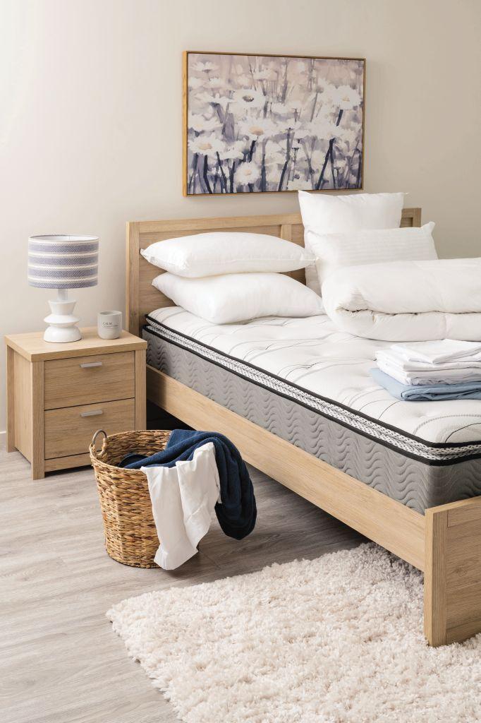 living co plush pillow top mattress queen