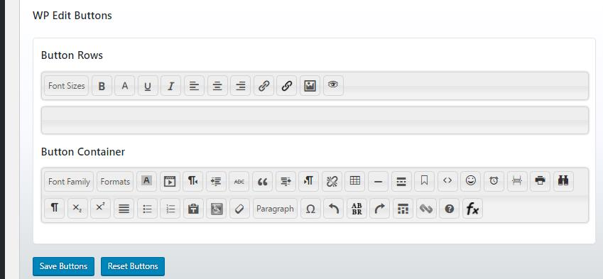 Insert Link Button Missing   WordPress org