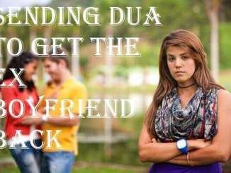 dua to get ex boyfriend back