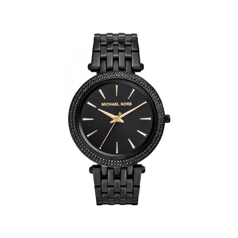 Michael Kors Ladies Black Darci Watch MK3337 - Womens Watches from The Watch Corp UK