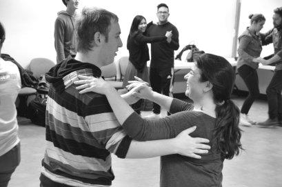 Students exchange partners. Alyssa Brown / The Watchdog