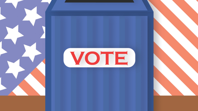 picture of a vote box
