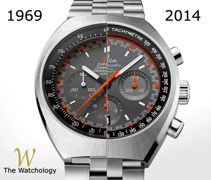 Omega Speedmaster Mark II - New vs Old