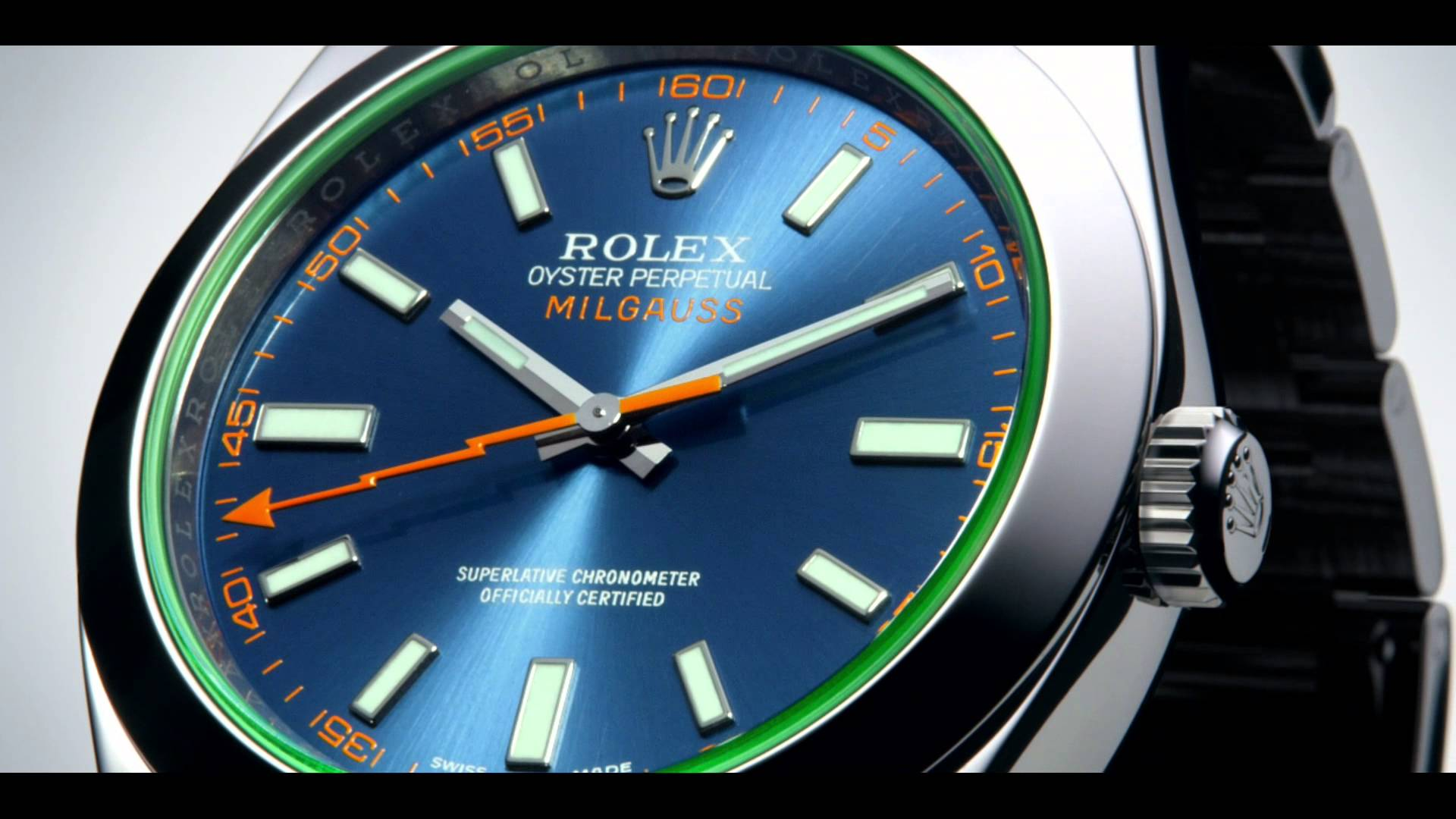 Rolex Milgauss Z Blue Dial 116400GV Watch Review
