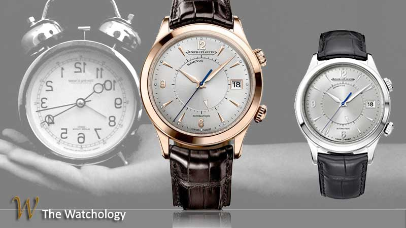 Jaeger-LeCoultre Master Memovox alarm watch