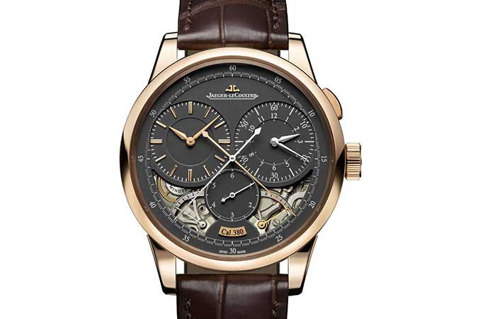 Jaeger-LeCoultre Duometre Chronograph Magnetite Grey Dial SIHH 2017