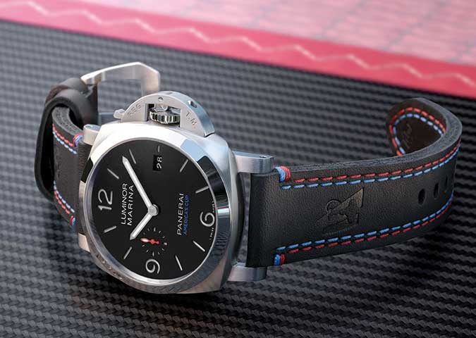 LUMINOR MARINA 1950 AMERICA'S CUP 3 DAYS AUTOMATIC ACCIAIO – Amercia's Cup Official Watches