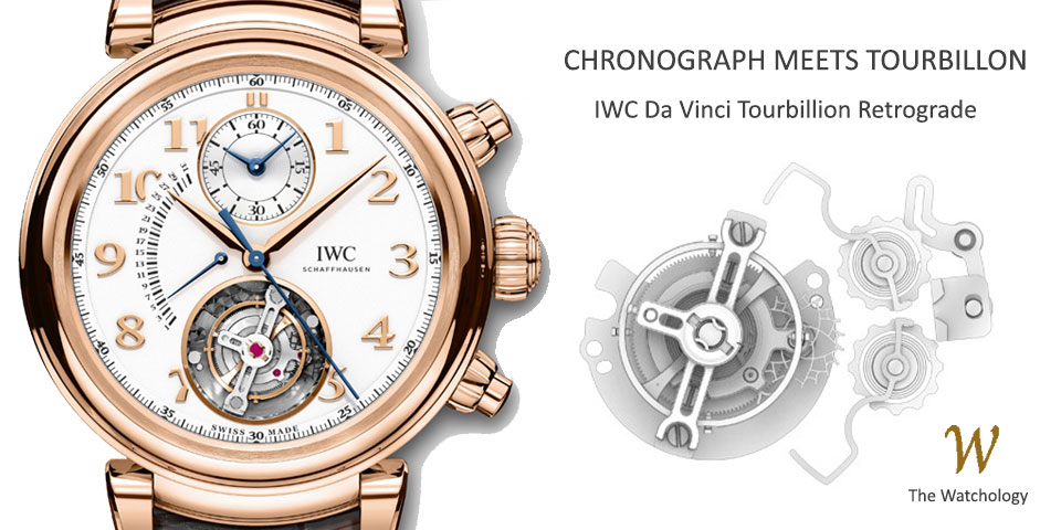 IWC Da Vinci Tourbillion Retrograde Chronograph
