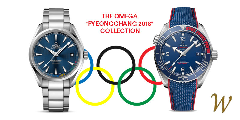 Olympic Games - Omega Pyeongchang 2018 Collection
