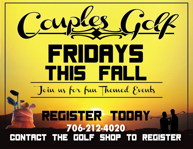 Couples Golf- Halloween Theme