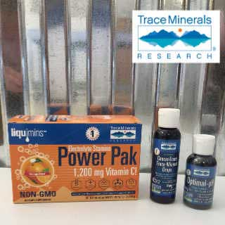 Trace Minerals Research products sold at The Water Fountain