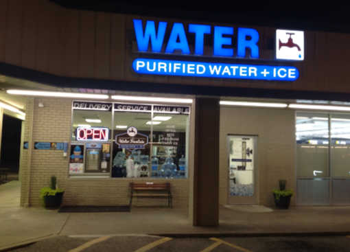 The Water Fountain NRH Store Front