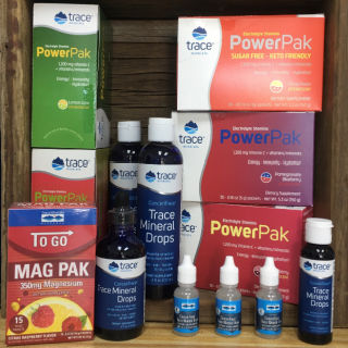 Trace Minerals products various