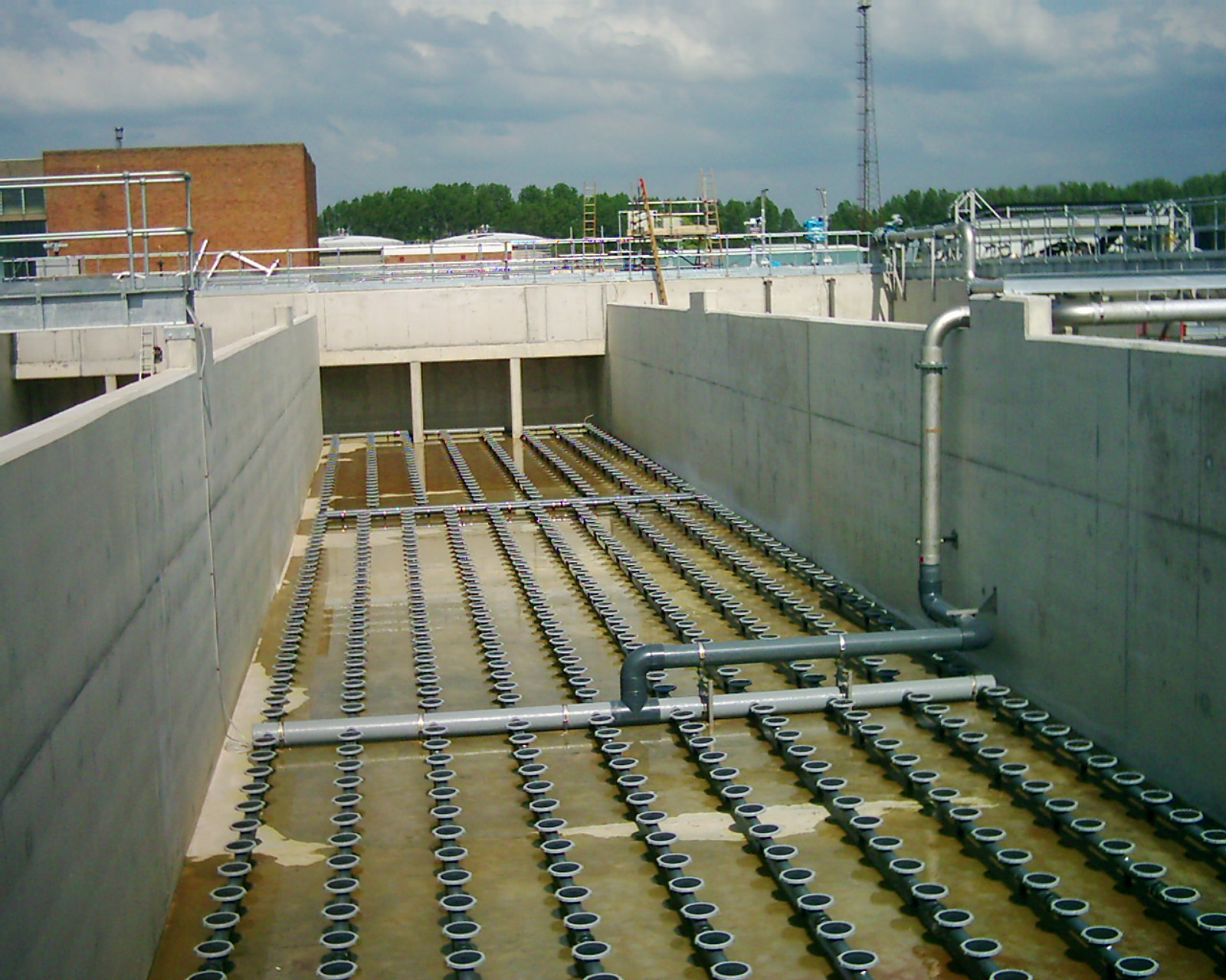Aeration Water Treatment Waste Water Treatment Water