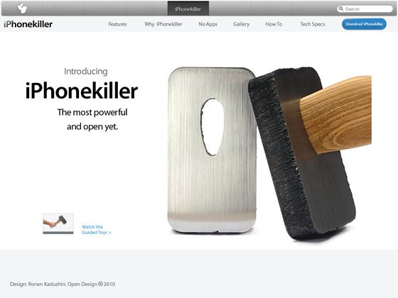 iPhone Killer by Ronen Kadushin