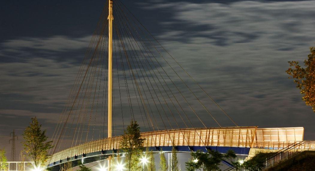 Il Ponte San Giuliano, con la partecipazione ingegneristica di Rodesco, è stato in costruzione tra il 2004 e 2005. L'ha disegnato l'architetto Antonio Di Mambro.