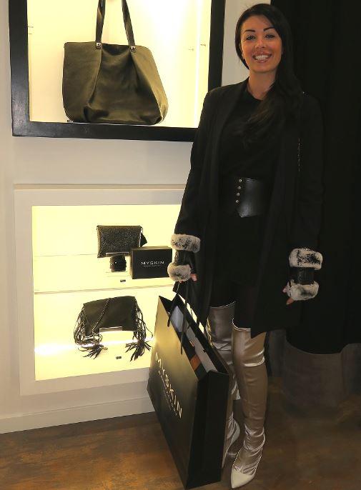 Claudia Lai, moglie del calciatore Radja Nainggolan