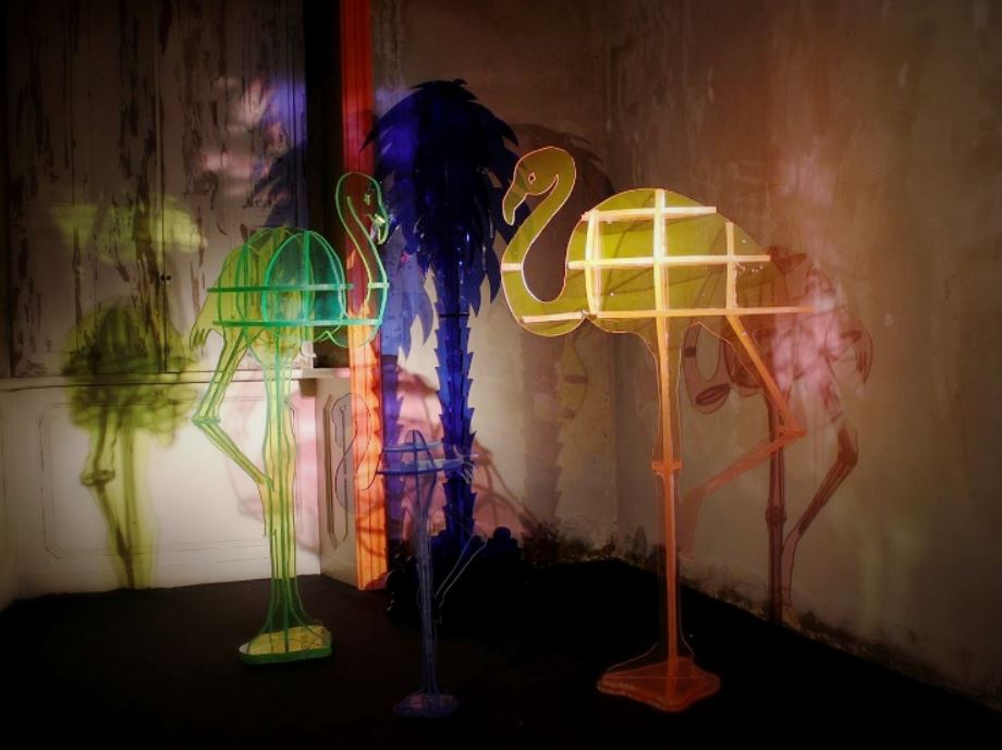 Gino Marotta ad Art Basel 2017.