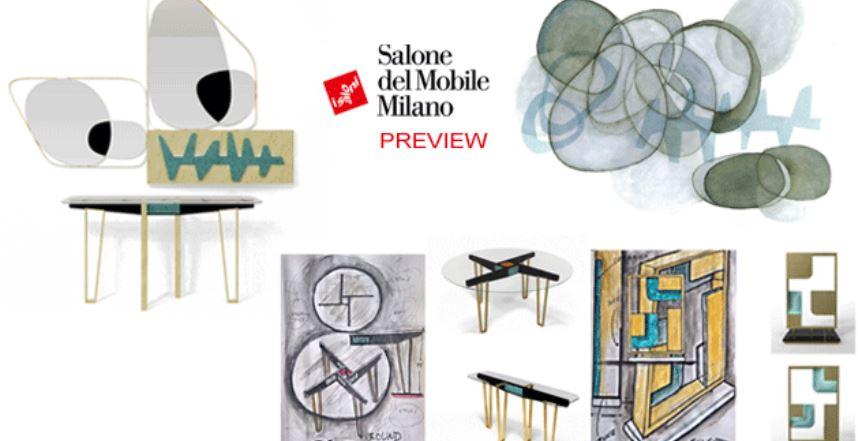 Marioni si presenta al Salone del Mobile 2018 con nuovi prodotti che vanno ad arricchire le collezioni Notorious e La Récréation. Una nuova serie di tavoli e consolle
