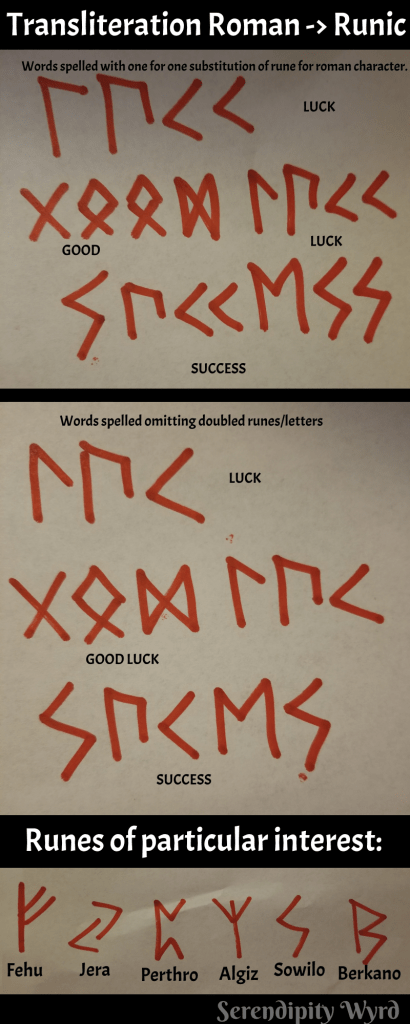 Tattooing The Runes The Way Of Witch