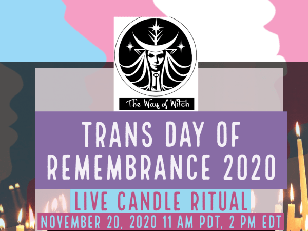 Transgender Day of Remembrance, 2020