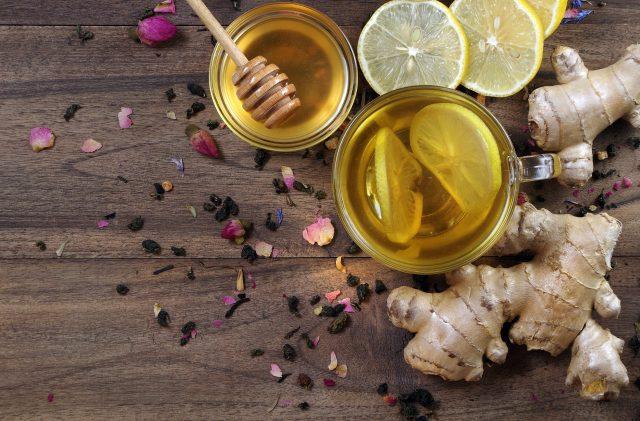 Ginger Rose Honey