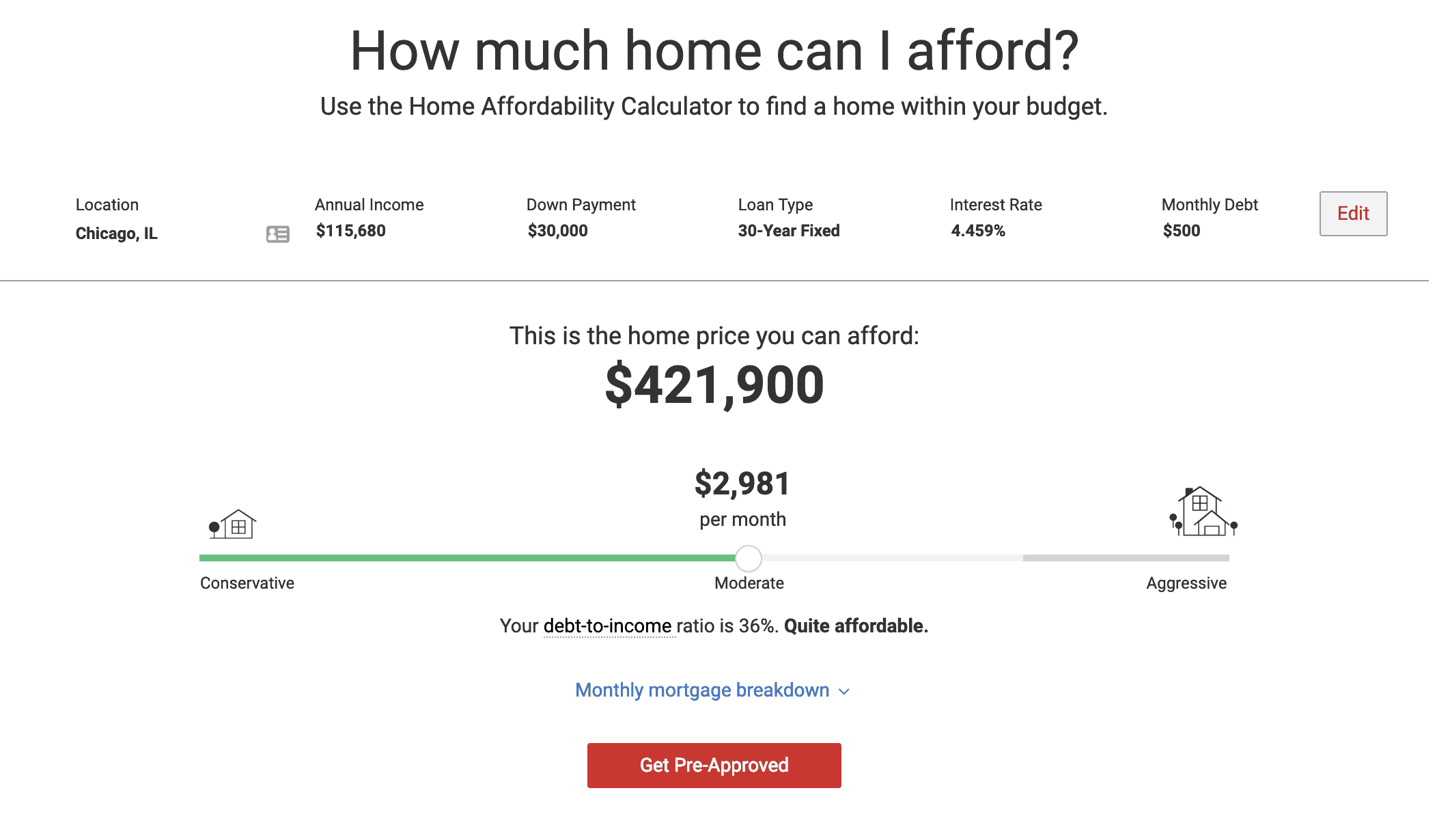 how much house can