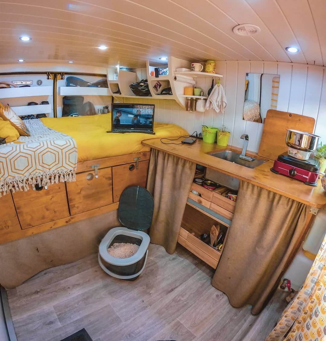 9 Campervan Kitchen Design Ideas For Van Life The Wayward Home