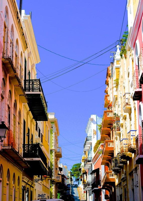 Puerto Rico Old San Juan Streets