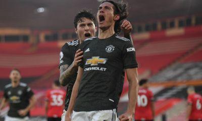 edinson cavani manchester united premier league