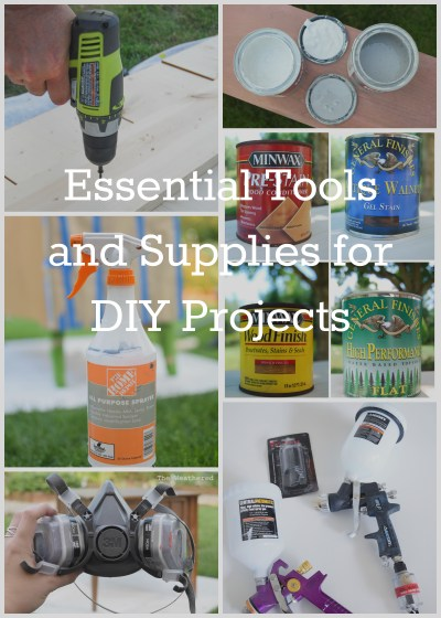 Essential Tools and Supplies for DIY Projects | from The Weathered Door