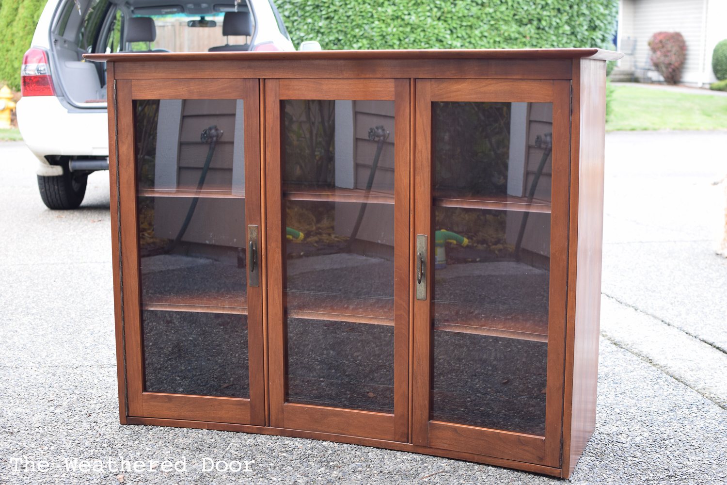Willett china hutch turned cabinet and Bleed Through