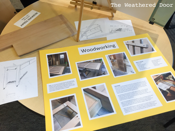 Woodworking Alder Kitchen Island progress WD-8