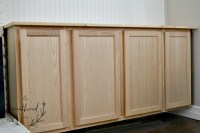 Built Ins Part One: Mounting the Cabinets - The Weathered Fox