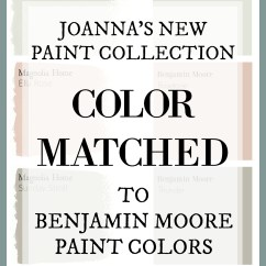 Living Room Colors Joanna Gaines Sectional Furniture Sets Fixer Upper Paint Magnolia Home Color Matched To S Has A New Line And This Site
