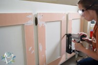 How to Update an Old Bathroom Vanity - The Weathered Fox