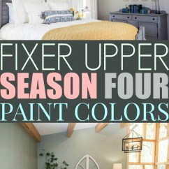 Living Room Colors Joanna Gaines Side Table For Modern Fixer Upper Inspired Color Schemes The One Who Can T Make Up Her Season 4 Paint S