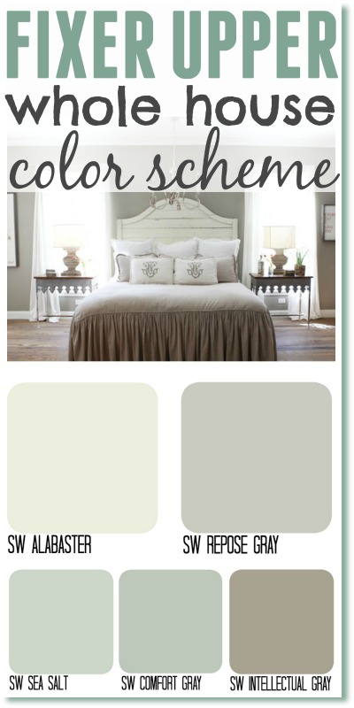 living room colors joanna gaines white leather sofa fixer upper inspired color schemes for the one who can t make up her whole house scheme get look by using s most