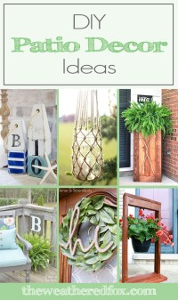 DIY Patio Decor Ideas to Spruce Up Your Exterior