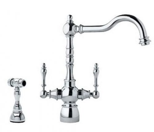 farmhouse kitchen faucet utensils strainer stylish and functional faucets the weathered fox high arc
