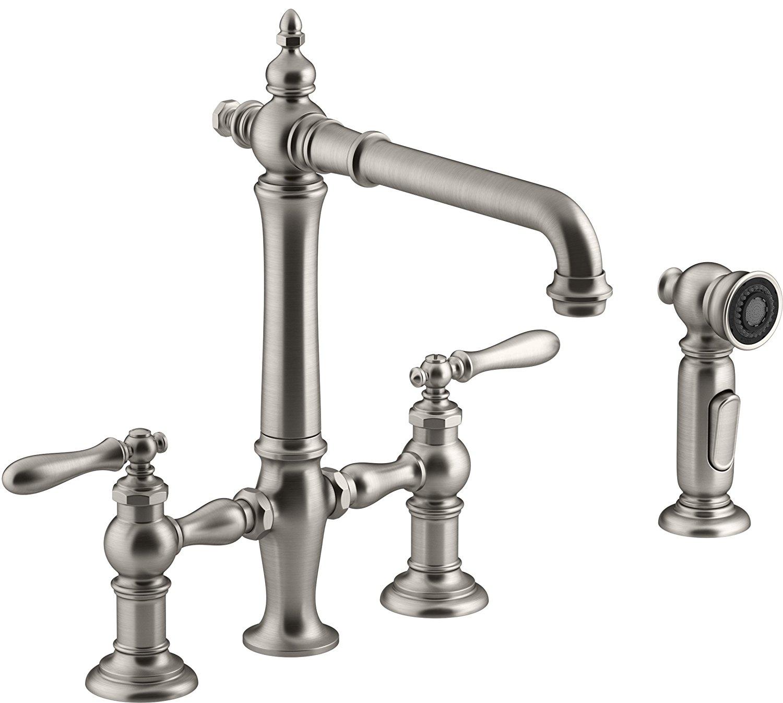 functional farmhouse kitchen faucets