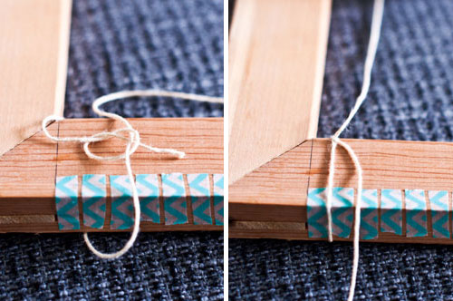 Slip Knot a Frame Loom | The Weaving Loom