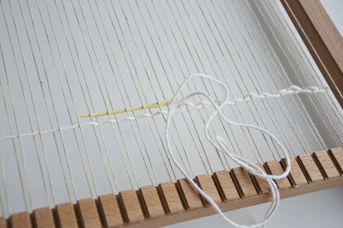 Plain Weave 2   The Weaving Loom