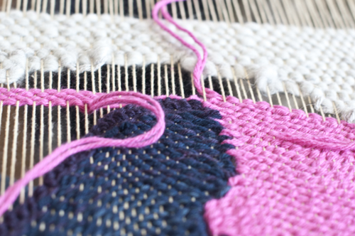 Love Weaving2 | The Weaving Loom