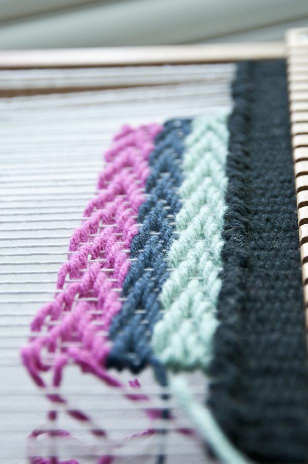 Weaving Techniques || The Chevron Weave | The Weaving Loom